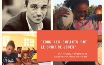 Interview de Pierre Gony, fondateur de l'association Terres en Mêlées